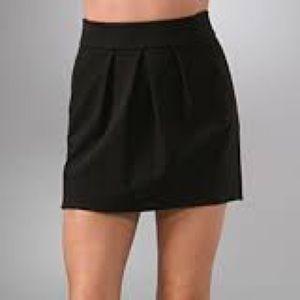 Diane Von Furstenberg Ginsy Mini Ponte Skirt